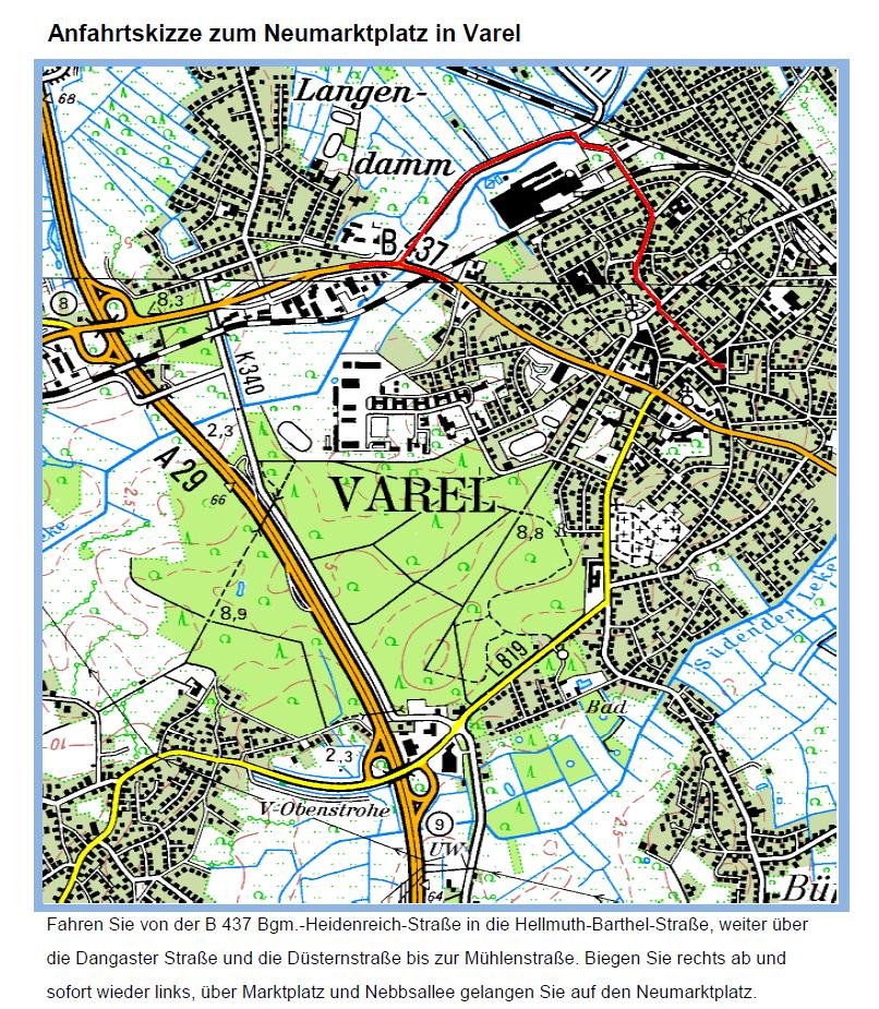 Skizze Varel