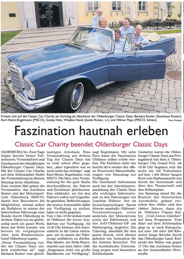 Sonntagszeitung 31.05.2015
